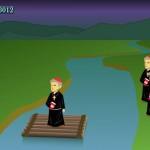Jogo de Lógica Canibais e Missionários