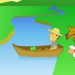 Jogo de Lógica Lobo, Ovelha e Couve