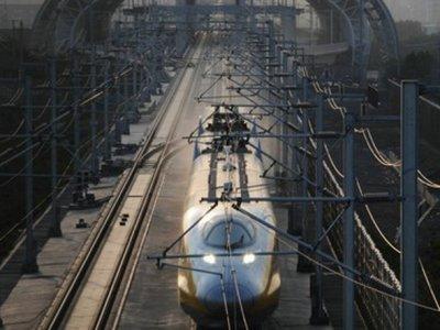Trem bala japonês roda em Linux